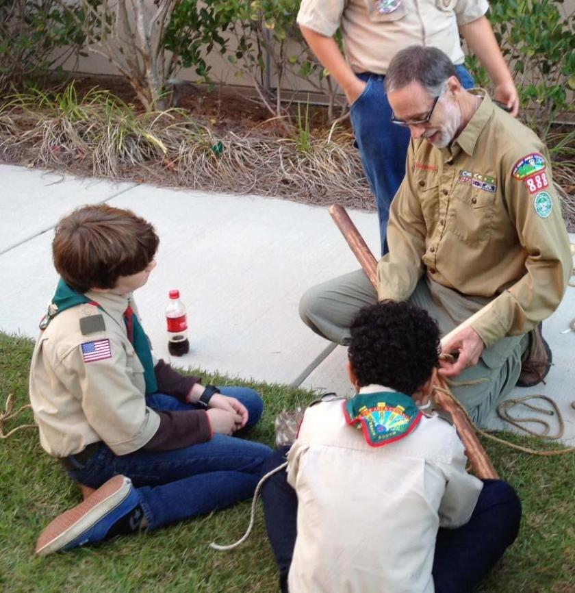 Old Scoutmaster