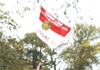 Flagpole Raising