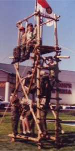 1997 Scout Expo Tower at Myrtle Square Mall.