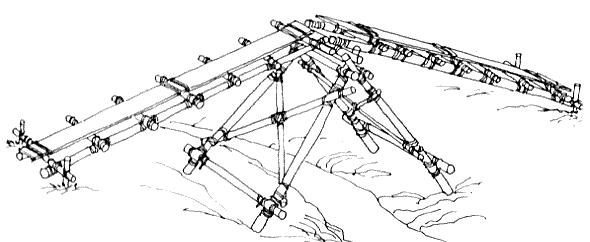 Drawing 3: Fully Assembled Single Lock Bridge