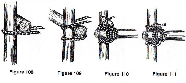 Tying the Japanese Mark II Square Lashing