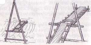 View of A-frame and Attachment of Walkways