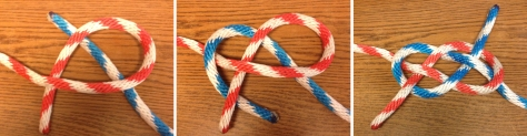 Tying a True Carrick Bend