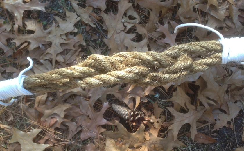 A Carrick Bend With the Ends Seized