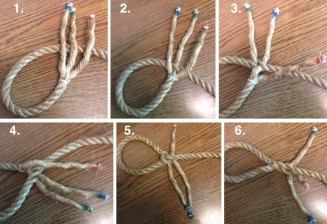 how to keep hemp rope from fraying