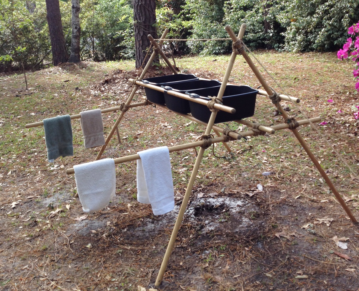 Scout Stave Dish Washing Rack Scout Pioneering