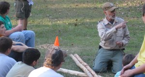 Pioneering Team Building Challenge at a Camporee