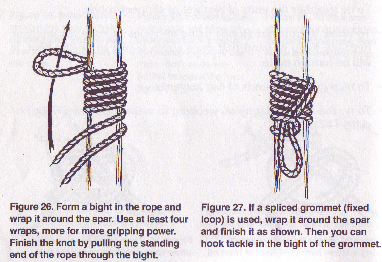 Pioneering Knots | SCOUT PIONEERING for Rope Ladder Knot  155sfw