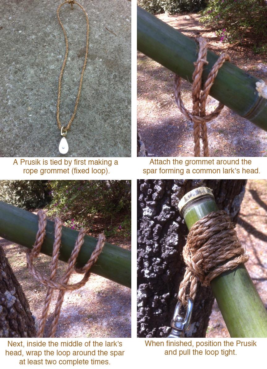 favorite pioneering knots  prusik