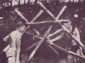 Interlocking the Trestles on an Single Lock Bridge!