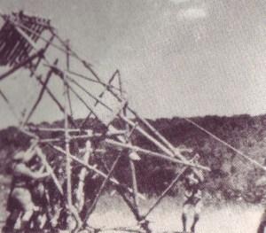 Hoisting a 24' Signal Tower!