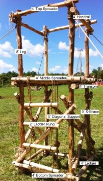 4x4 Climbing Tower