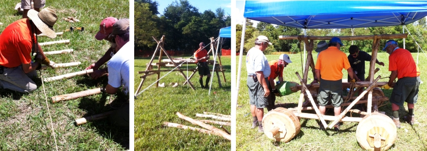 Building a Rope Ladder, Chippewa Kitchen, and Battering Ram
