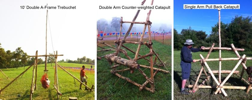 Three Featured Catapult Designs