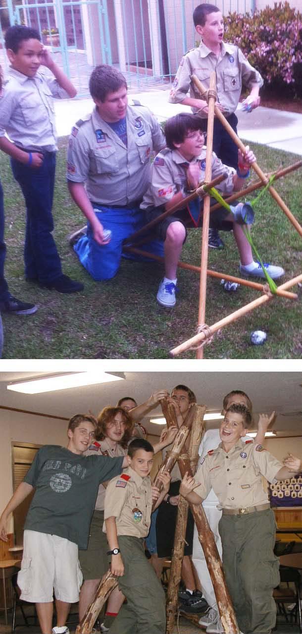 Pioneering And Interpatrol Activities Scout Pioneering
