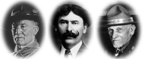 Lord Baden-Powell / Ernest Thompson Seton / Daniel Carter Beard