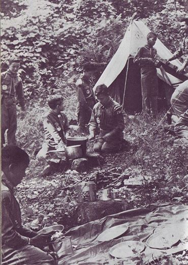 Scanned from the 1976 Printing of the 1967 Edition of the Boy Scout Fieldbook