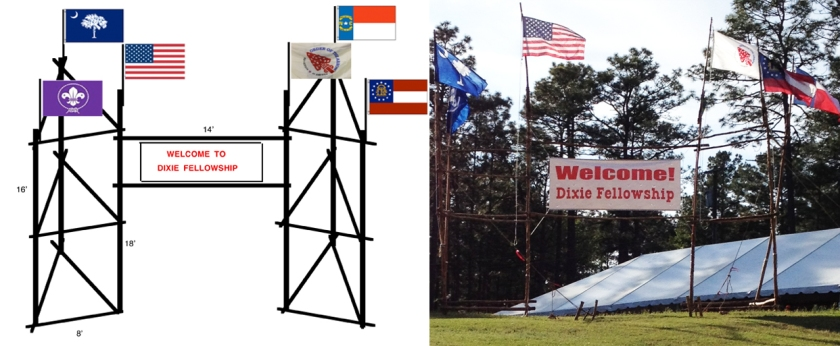 Six Flag Banner Gateway: From the Drawing Board to the Open Field
