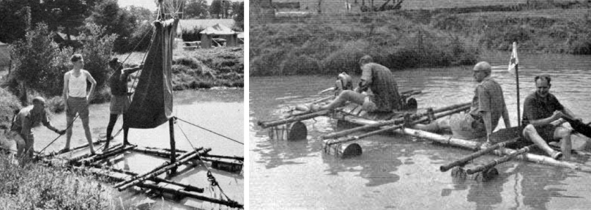 Gilwell Rafts