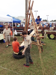 Camp See-Saw as a Festival Exhibit