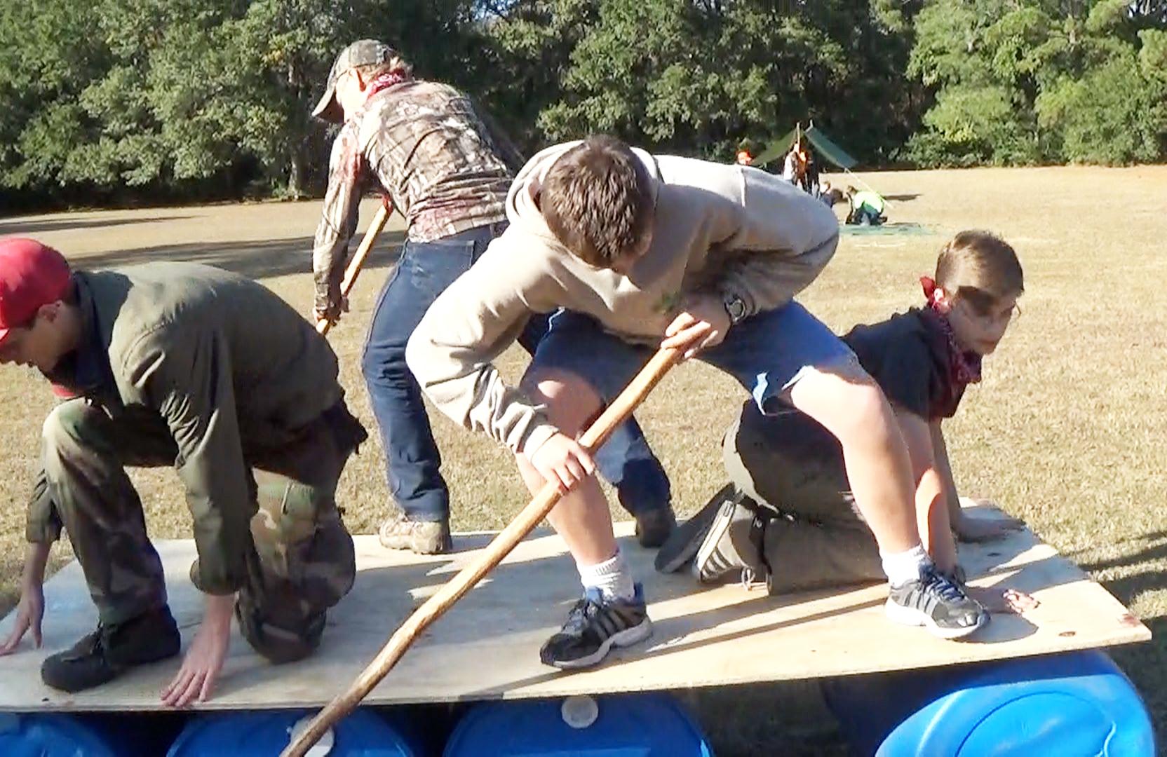Lizzie Gator Team Building Challenge