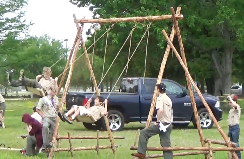 12' Scout Swing Seeing Action at a Public Scout Expo