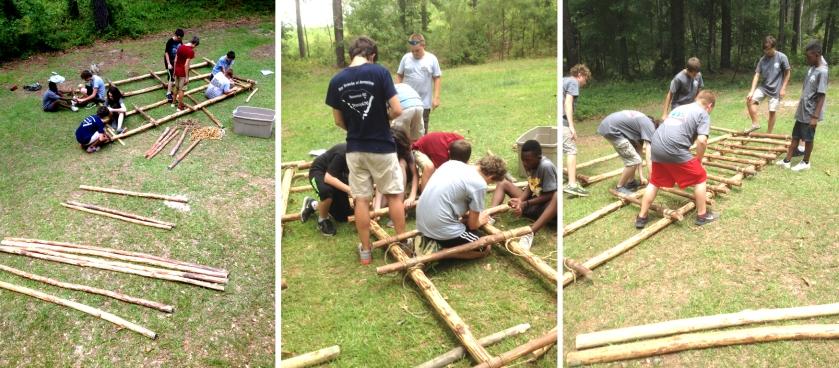 Assembling the Ladders